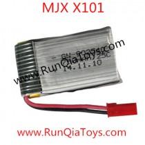 mjx x101 quadcopter battery