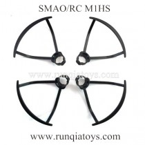 SMAO RC M1HS drone Blades Guards Black