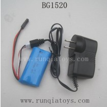 SUBOTECH BG1520 Parts-Battery and Charger