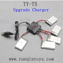 TYH Model TY-T5 Parts-Charger and Battery