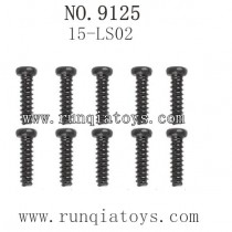 XINLEHONG Toys 9125 Car Parts Round Headed Screw 25-LS02