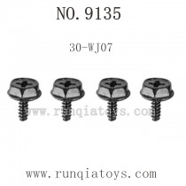 XINLEHONG 9135 Parts-Lock nut
