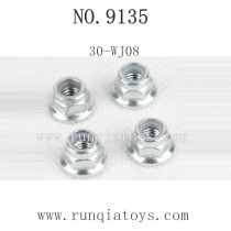 XINLEHONG 9135 Truck Parts-Lock nut