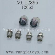 HBX 12895 Car parts-LED LIGHT HOLDERS 12663