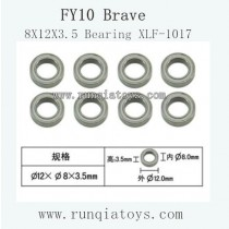 Feiyue fy-10 parts-8X12X3.5 Bearing XLF-1017