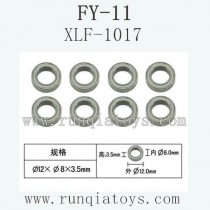 FeiYue FY-11 Car parts-8X12X3.5 Bearing XLF-1017