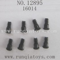 HBX 12895 Car parts-Steering Hub Step Screws 16014