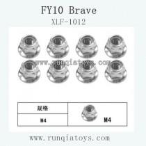 Feiyue fy-10 parts-Flange Locknut XLF-1012