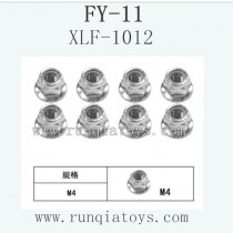 FeiYue FY-11 Car parts-Flange Lock nut XLF-1012