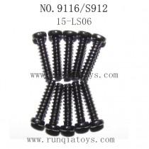 XINLEHONG TOYS 9116 Parts-Screw 15-LS06