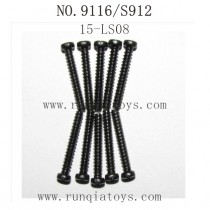 XINLEHONG TOYS 9116 Parts-Round Headed Screw 15-LS08
