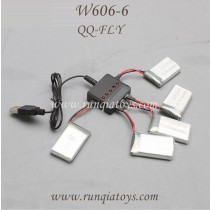 HUAJUN W606-6 QQ-FLY FPV Battery charger