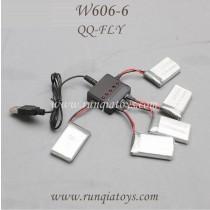 HUAJUN W606-6 QQ-FLY FPV Battery charger
