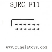SJRC F11 Parts-Driver and Screws