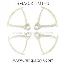SMAO RC M1HS drone Blades Guards white