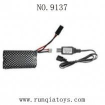 XINLEHONG TOYS 9137 Parts-Original Battery and Charger