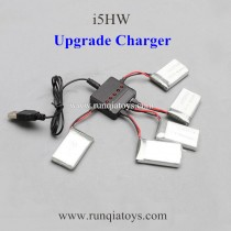 YiZhan i5HW drone Battery and upgrade charger