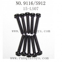 XINLEHONG TOYS 9116 Parts-Round Headed Screw 15-LS07