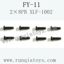 FeiYue FY-11 Car parts-Screw 2×8PB XLF-1002
