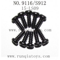 XINLEHONG TOYS 9116 Parts-Round Headed Screw 15-LS09