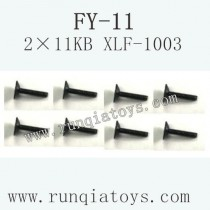 FeiYue FY-11 Car parts-Screw 2×11KB XLF-1003