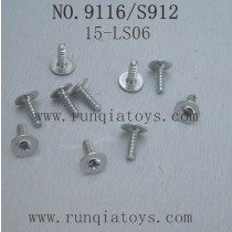 XINLEHONG TOYS 9116 Parts-Round Headed Screw 15-LS13