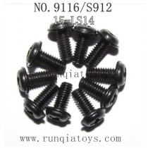 XINLEHONG TOYS 9116 Parts-Round Headed Screw 15-LS14