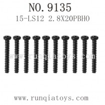 XINLEHONG 9135 Truck Parts-Screws 15-LS12