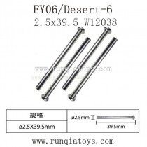 Feiyue fy06 parts-Front Box Nail Head Shaft W12038