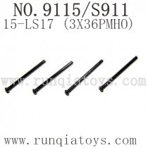 XINLEHONG Toys 9115 parts-Round Headed Screw 15-LS17