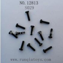 HBX 12813 survivor MT parts Round Head Self Tapping Screw S029