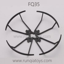 FQ777 FQ35 Drone Parts Propellers Guards