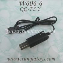 HUAJUN W606-6 QQ-FLY FPV USB Charger