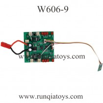 HUAJUN W606-9 Quadcopter Receiver Board