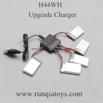 JJRC H44WH Drone Battery and upgrade charger
