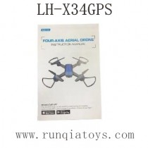 Lead Honor LH-X34 GPS Drone Parts-Manual