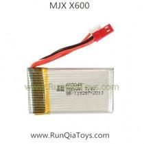 MJX X600 drone lipo battery