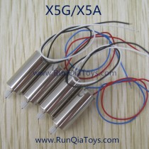runqia x5g stunt king quadcopter motor set