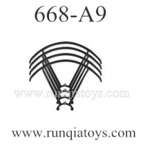 YU XIANG 668-A9 drone Blades Guards