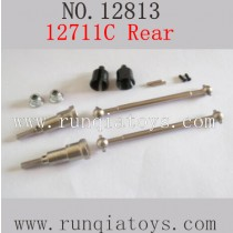 HBX 12813 survivor MT parts Upgrade Metal Drive Shafts Rear