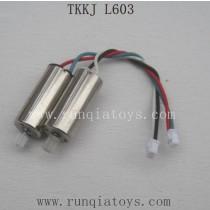 TKKJ L603 Drone Parts Motor AB