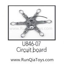 udirc u846 circuit board