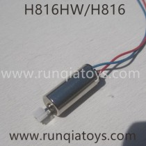 Helicute H816 H816H Quadcopter Motor Blue