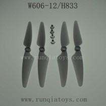 HUAJUN W606-12 H833 Parts-Propellers