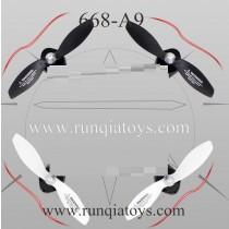 YU XIANG 668-A9 drone Main Blades