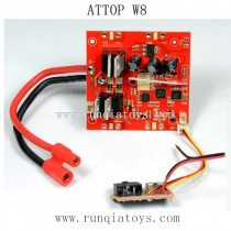 ATTOP W8 1080P GPS Parts-Receiver Board