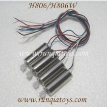 Helicute H806 H806W Motors