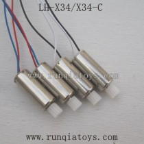 Lead Honor LH-X34 Parts-Motor with mini Gear