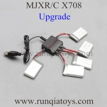 MJX X708 Quadcopter Battery and Upgrade charger