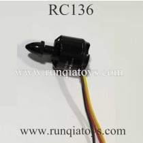 RC Leading RC136 Motor Black cap
